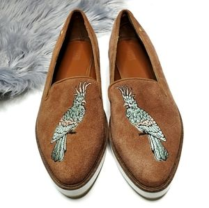 Australia Luxe Collective Embroidered Bird Loafer